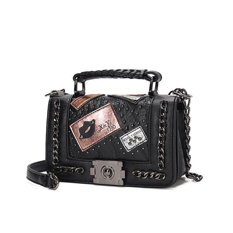 New Crossbody bag Fashion Women Purses And Handbags Designer Brand Ladies Hand Bags PU Leather Chain Shoulder Q1127