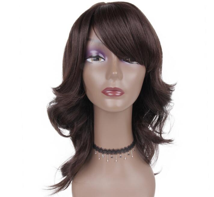 Livraison gratuite Commerce extérieur Européenne et Américaine Mode Japonais Soie Chemical Cheveux Coiffure De Cheveux Long 18 pouces
