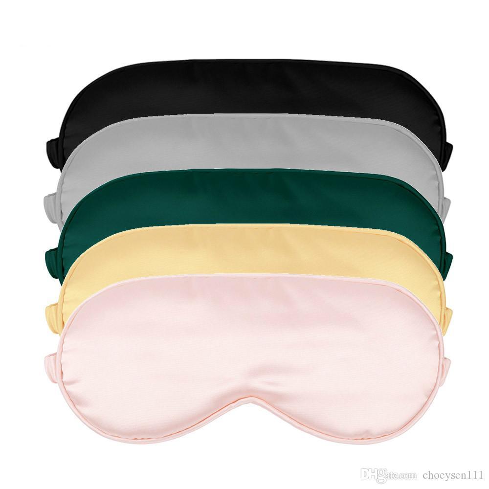 100٪ 3d الحرير النوم قناع النوم الطبيعي قناع العين قناع عيون الظل العين التصحيح لينة المحمولة