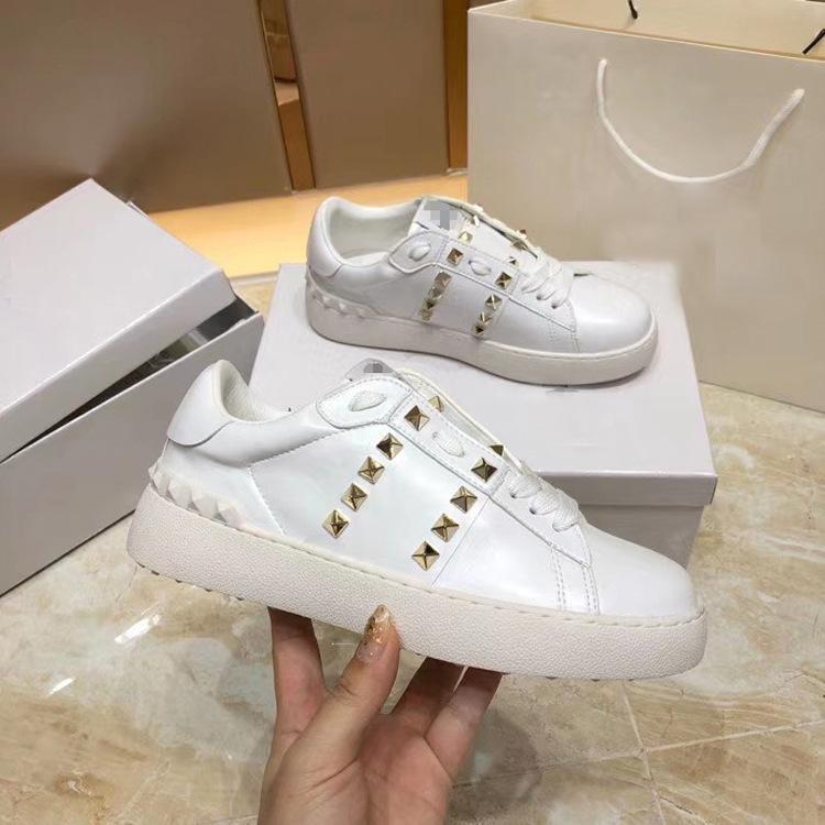Scarpe Xiaobai Star femminile Lo stesso 2021 nuove scarpe da tavola Rivet