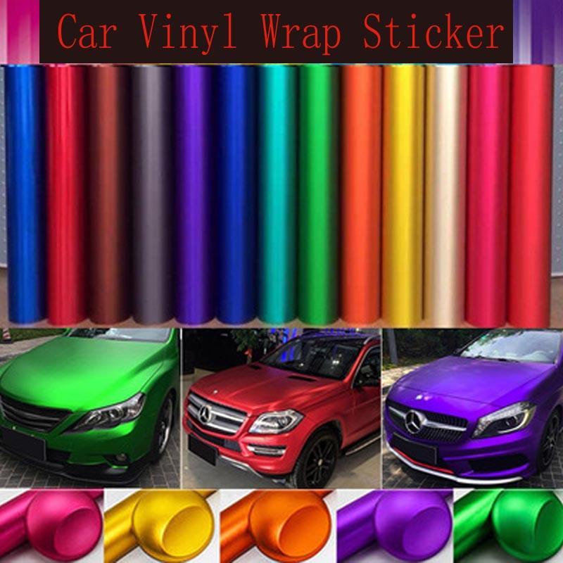 11 farbe auto vinyl wrap aufkleber intern und externschutz blase freie abdeckung film motorrad auto aufkleber
