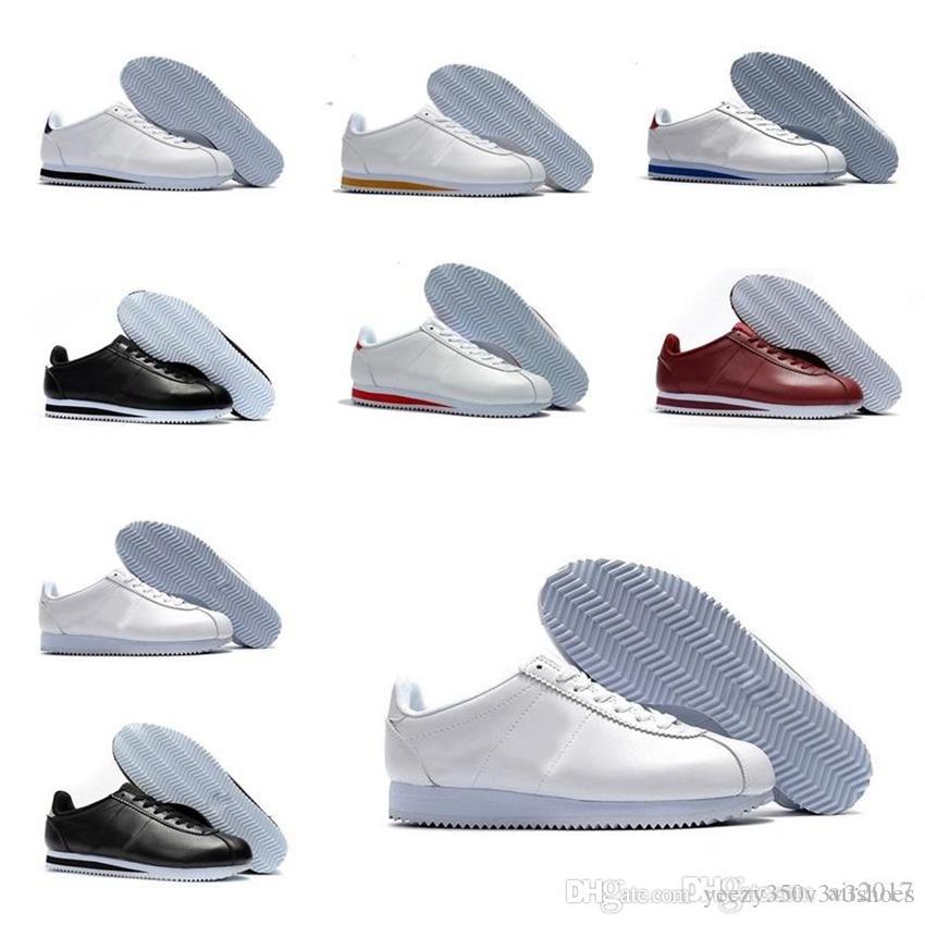 2021 Air Max Cortez zapatos hombres y mujeres zapatos deportivos casuales deportes de cuero original Cortez caminando zapatos casuales Tamaño US 5.5-11 DH-1K18