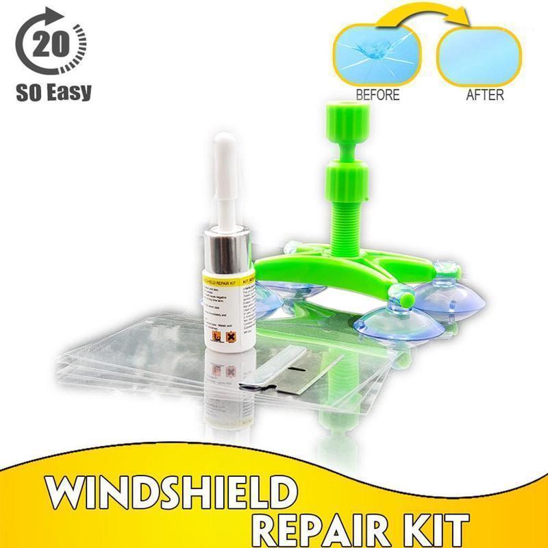Diğer Bakım Temizleme Araçları Cam Tamir Kiti Hızlı Düzeltme Araba Kırık Cam Ön Cam Aracı Reçine Mühürleyen DIY Otomatik Pencere Ekranı Parlatma1