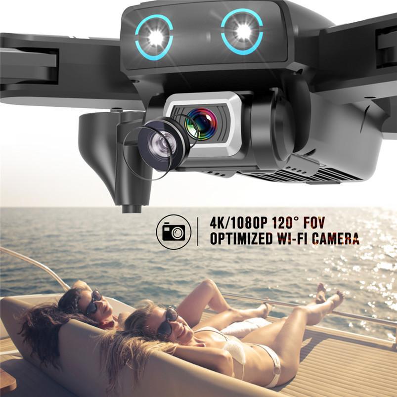 بدون طيار 4K HD كاميرا GPS بدون طيار 5 جرام WiFi FPV 1080P لا إشارة عودة RC طائرات الهليكوبتر الرحلة 20 دقيقة بدون طيار مع الكاميرا UPS