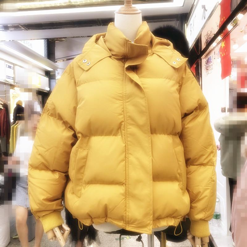 Womens Parka Outwear Outwear automne Hiver Jacket surdimensionné Veste à capuchon à capuchon Femmes Mode Coton Parkas Femme 201119