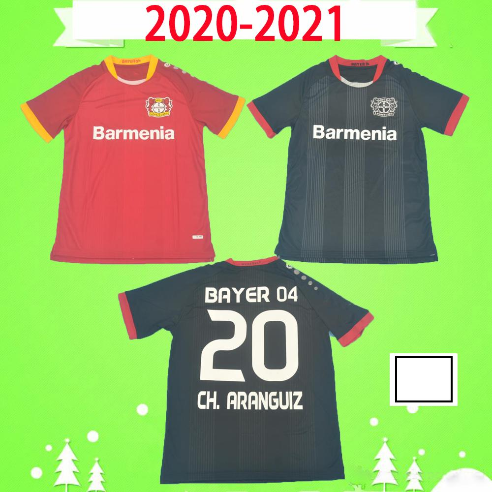 2020 2021 Jersey De Fútbol De Leverkusen Pohjanpalo L.Bender 20 21 Hogar Lejos Red Bayer 04 Havertz Demirbay Alario Volland Camisa De Fútbol Por ...