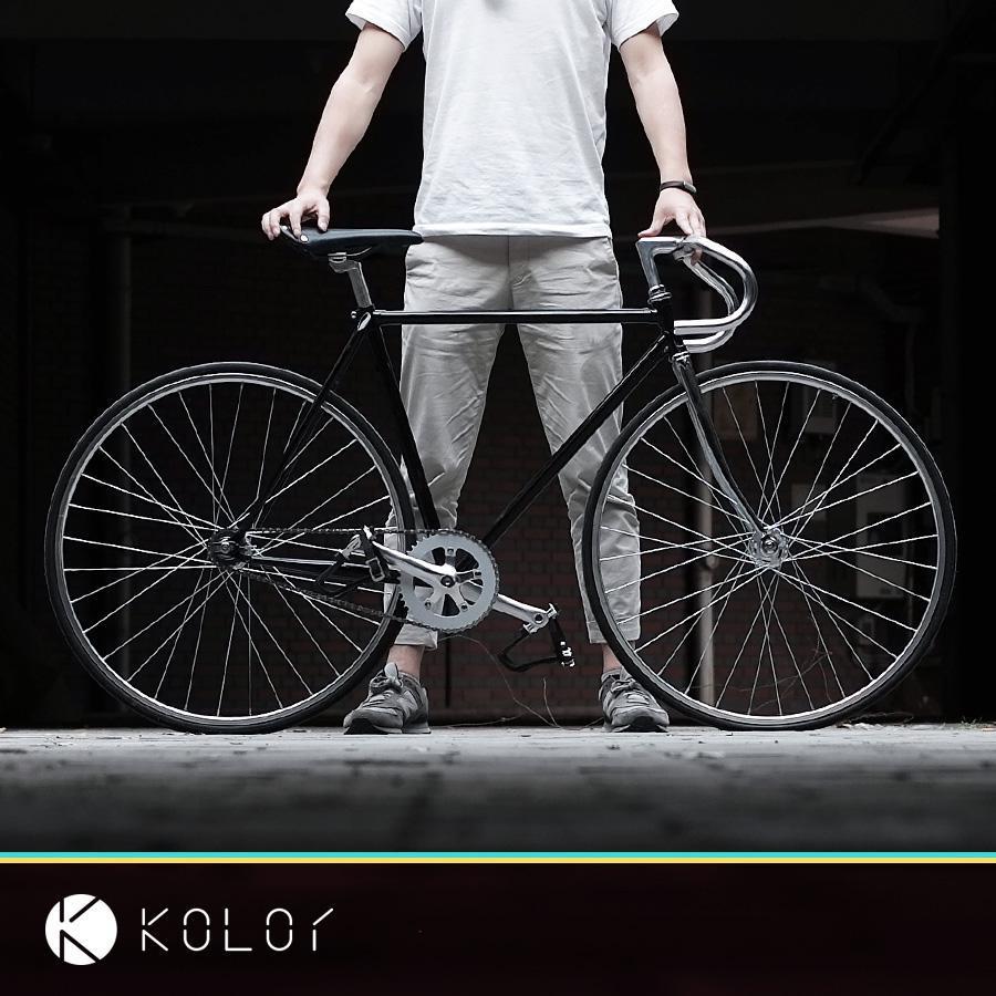 2021 Cornice per biciclette vintage Fixie 700C, pista ciclabile, spettacolo unico Pin fisso, scatola della bicicletta, luce inlcoude