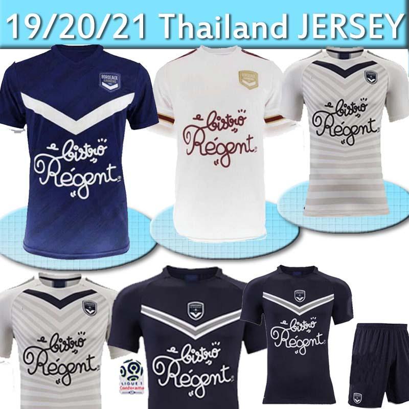 Thailand Girondins de Bordeaux Soccer Jerseys BRIAND S.KALU KAMANO BENITO DE PREVILLE BASIC Custom Home Away Adult Football Shirt 2020 2021