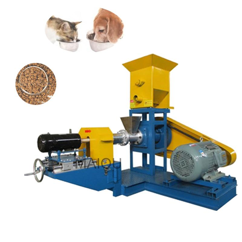60-80kg Commercial 1-8mm Molde Feed Feed Extruser Flotante Fish Feed Pellet Pellet Machine