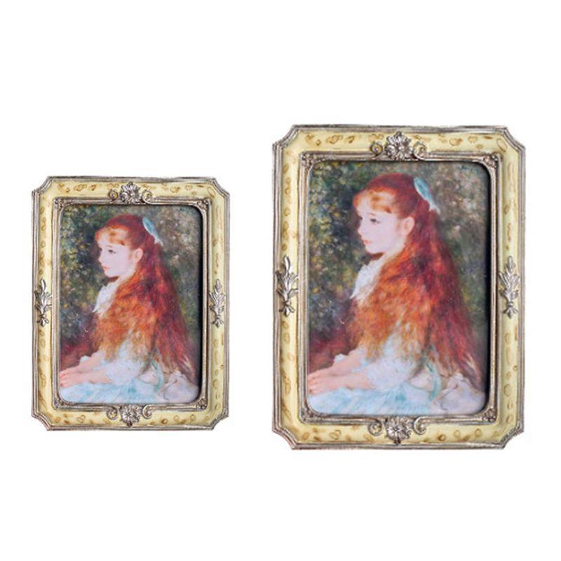 Quadros de 6 polegadas Europa Po frame imagem decorativa na mesa decoração de casa 67JB