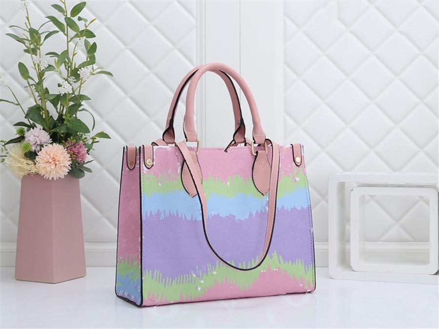 Высокий Qualicolor Classic Print Cloud Sumbag Hot Play Bag Slung Bag Lady # 231 # 34266666