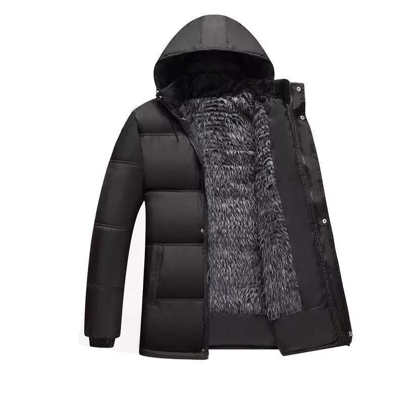 Зимняя куртка Parkas мужские куртки 2021 повседневная пальто с капюшоном мужская верхняя одежда толстая хлопковая стеганая куртка мужская бренда одежды