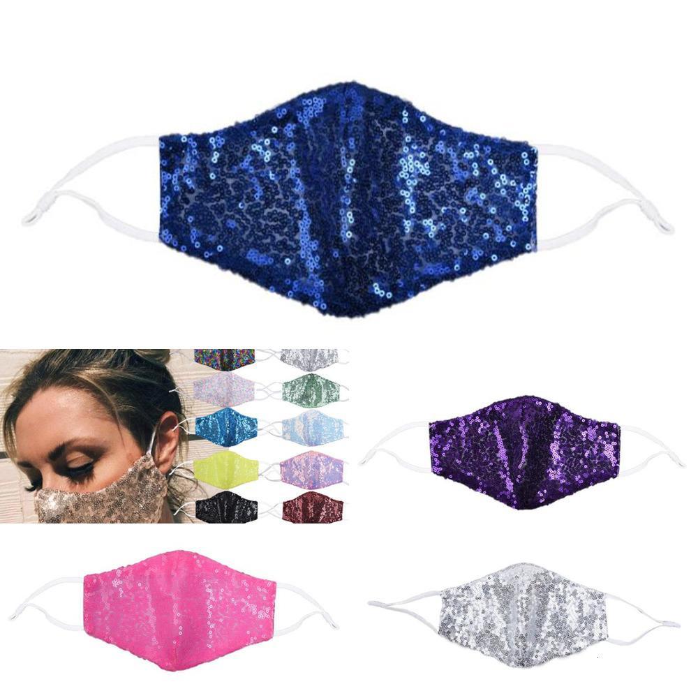 FactoryCD2KFashion Pullu Bling Yüz Maskesi toz geçirmez Yıkanabilir Yeniden kullanılabilir Ağız Maskesi Unisex Bisiklet Tasarımcı Maske