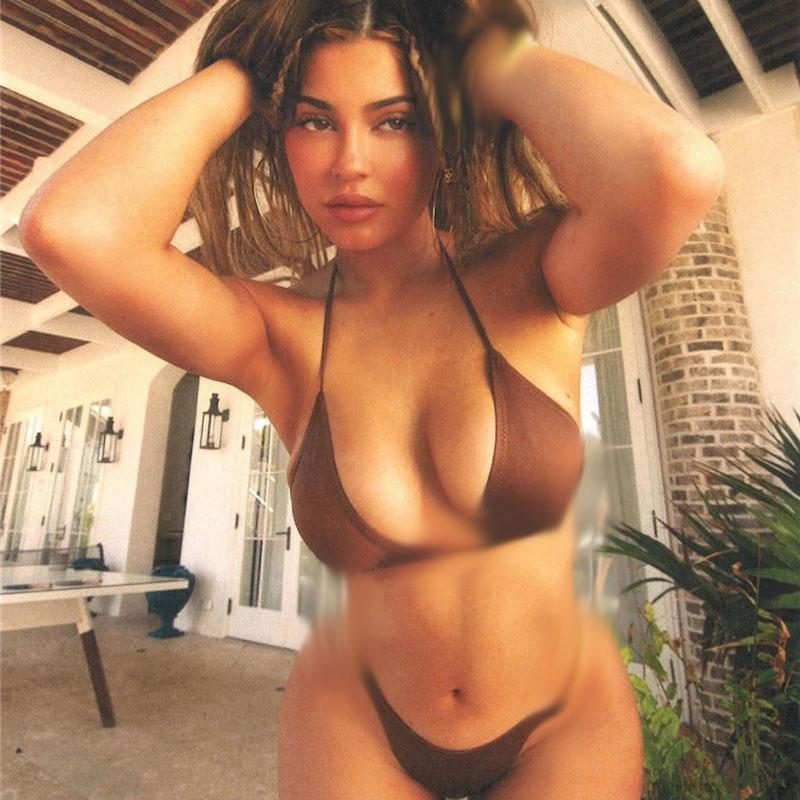 패션 섹시한 여성 Bikinis 체인 편지 3 점 백리스 여자 수영복 숙녀 여름 해변 수영 수영복