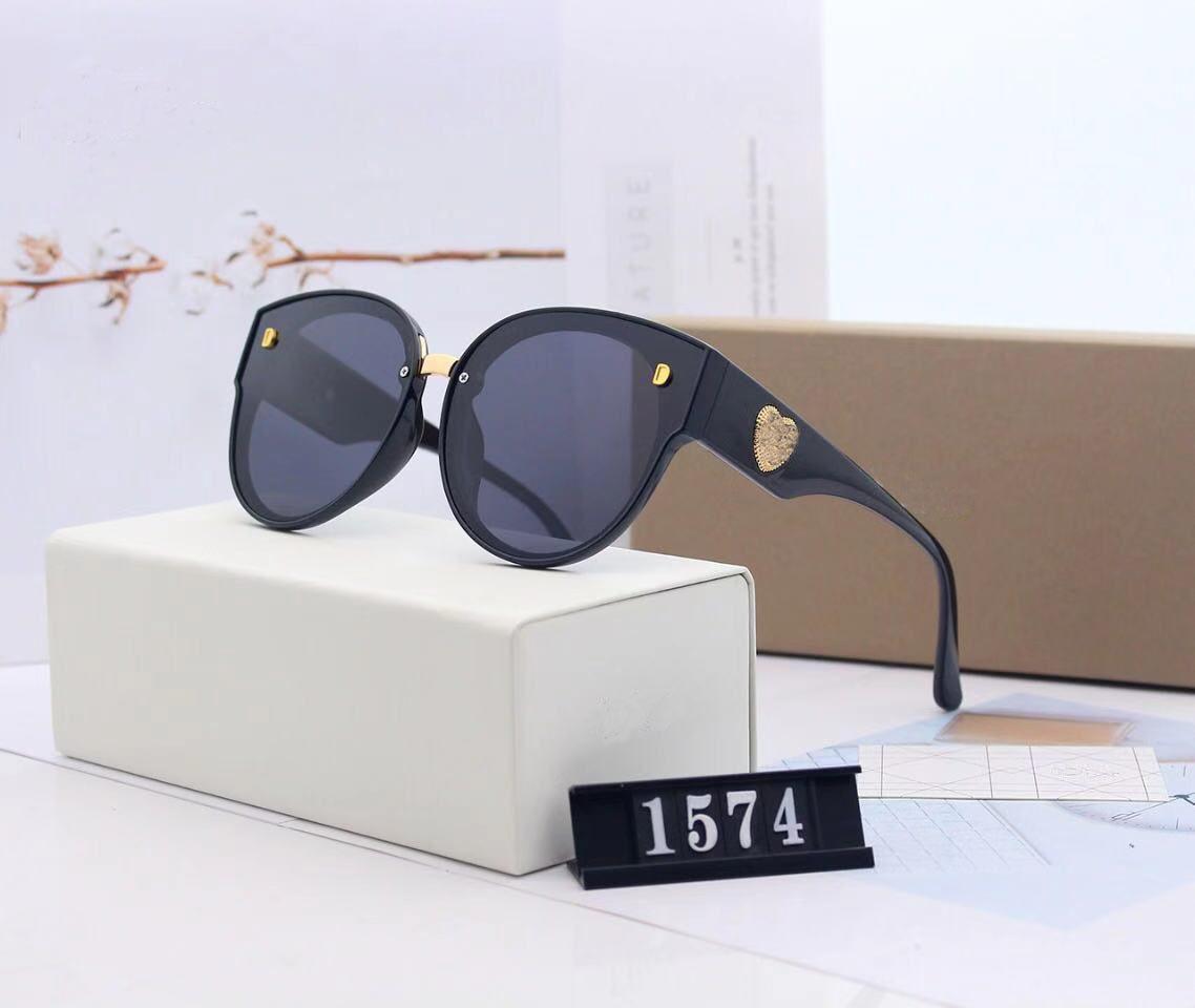 Sunglasses de concepteur Lunettes de soleil pour hommes et femmes à l'extérieur de l'ombre d'extérieur Cadre PC Cadre Mode Classic Dames Lunettes de soleil Miroir Miroir