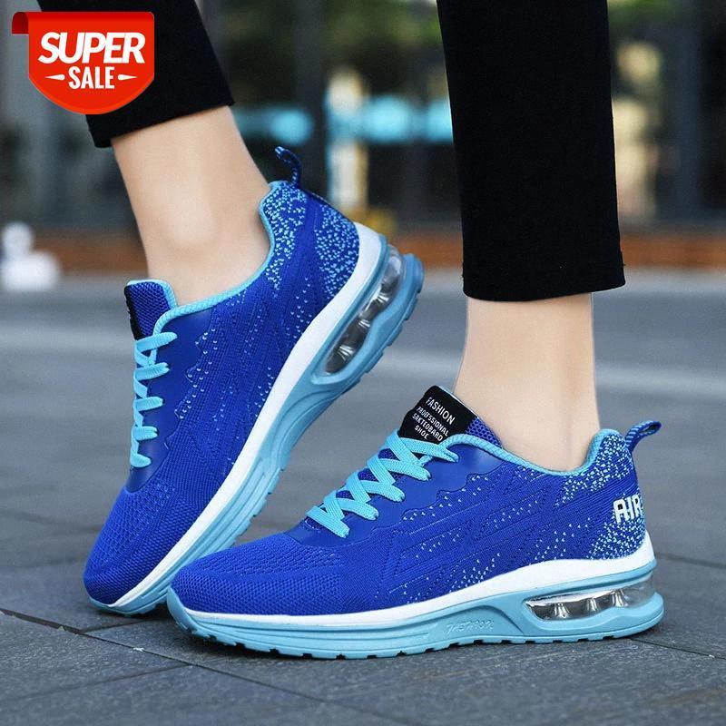 Mujeres Chunky Street Lightweight Mesh Sneaker mujer zapatos transpirable zapatos dama calzado Chaussure Femme Dropshipping # MO4V