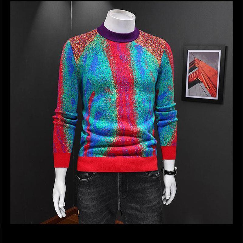 남성 스웨터 터틀넥 망 캐시미어 점퍼 땀 셔츠 블랙 점퍼 인쇄 헤지 풀 드 럭스 망 디자인 스웨터