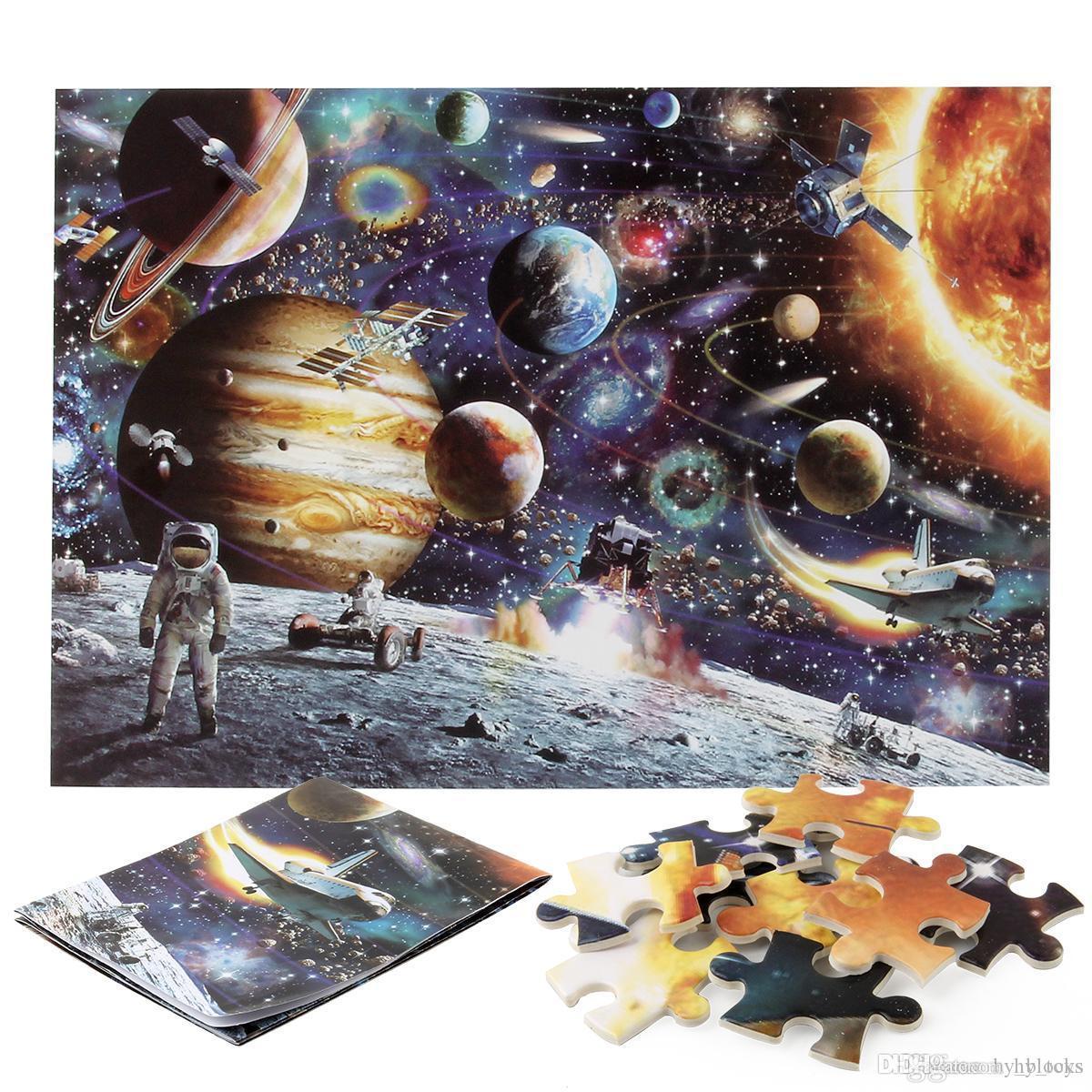 Pièces éducatives Paysage Décompression Puzzles célèbres de Papier Puzzle Dessin animé Enfants 1000 Puzzles adultes Plan Animal Jouets PXAPM
