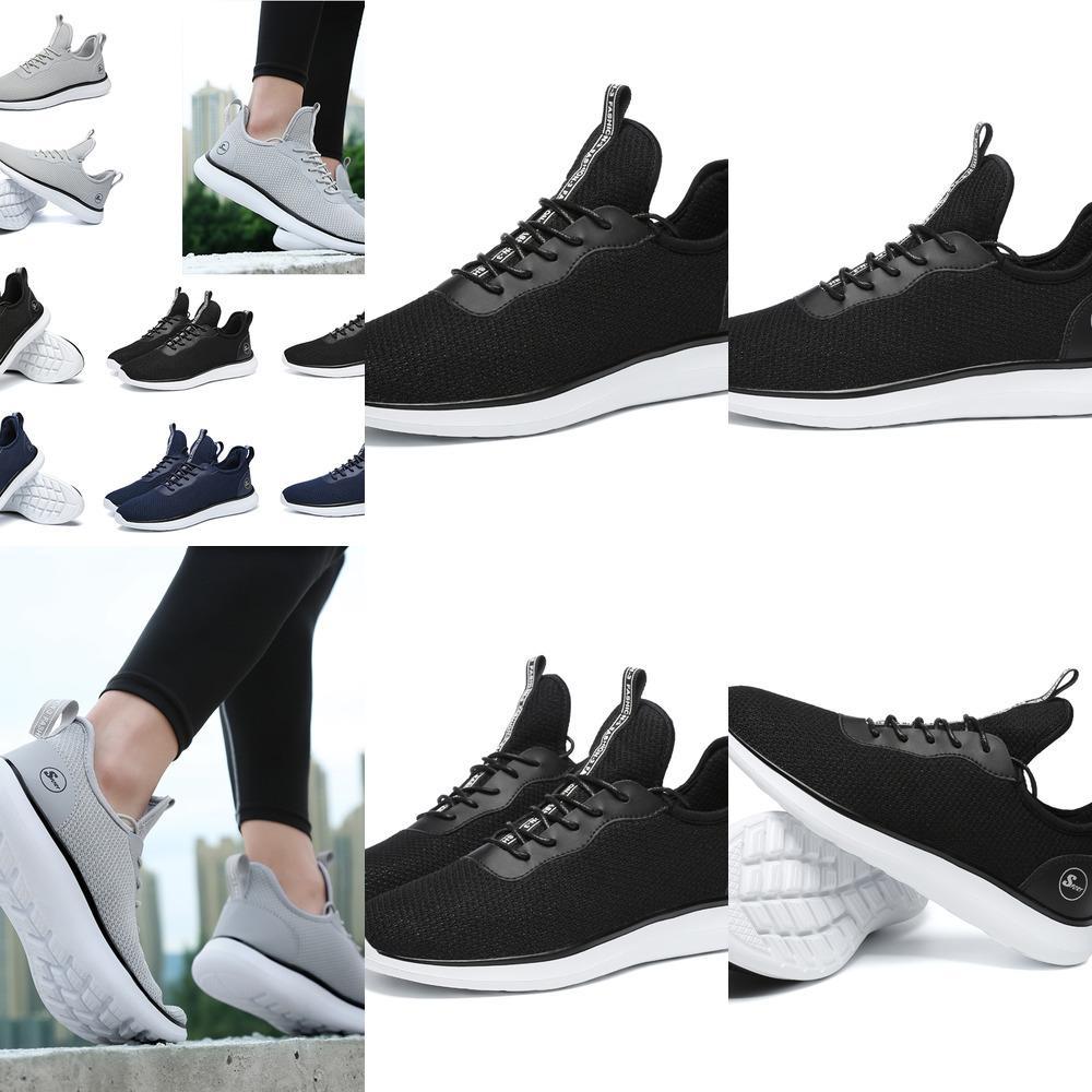 Blue Basse 2020 Coupée Black Grey Blue Hommes Running Chaussures Confortable Basculon Femmes Respirantes Men Chaussures Sports Sports Sports 35-45 Style 12