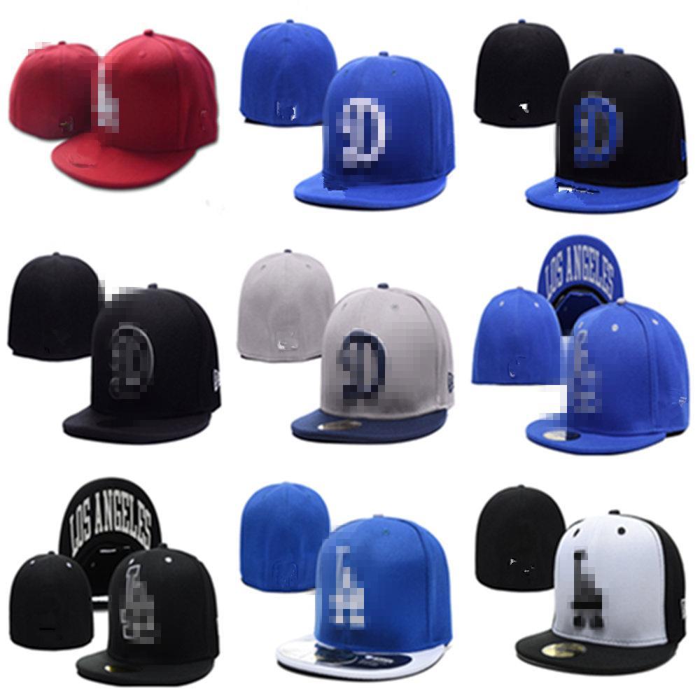 Cappello da uomo di alta qualità da uomo La lettera Brim Brim Embroiered La Lettera Team Logo Fan Cappelli da baseball Chapeu chiuso