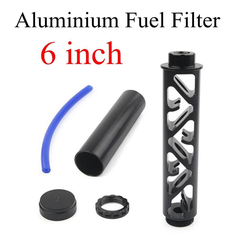 6 بوصة سيارة فلتر الوقود المذيبات مصيدة المذيبات 1/228 ل Napa 4003 WIX 24003 الألومنيوم الوقود فلتر 1 / 2x28 Filtro Napa5x8-24