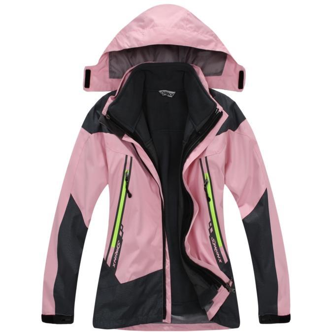 2021Winter erkek kız açık spor rekreasyon rüzgar su ceketler termal nefes iki parçalı kayak giyim dağcılık kampı