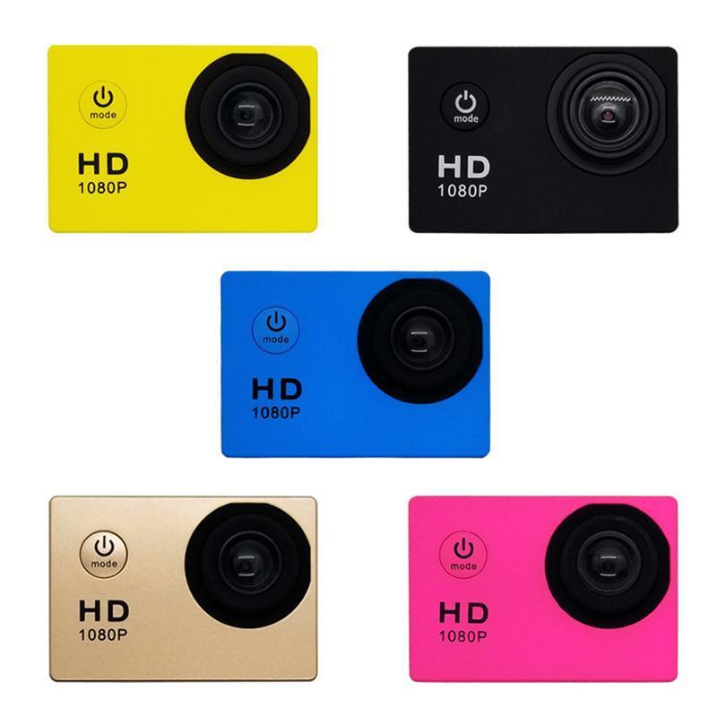 Действие Камера Водонепроницаемые Спортивные Камеры Широкоугольный объектив DV Видеокамера Перезаряжаемая LHB99