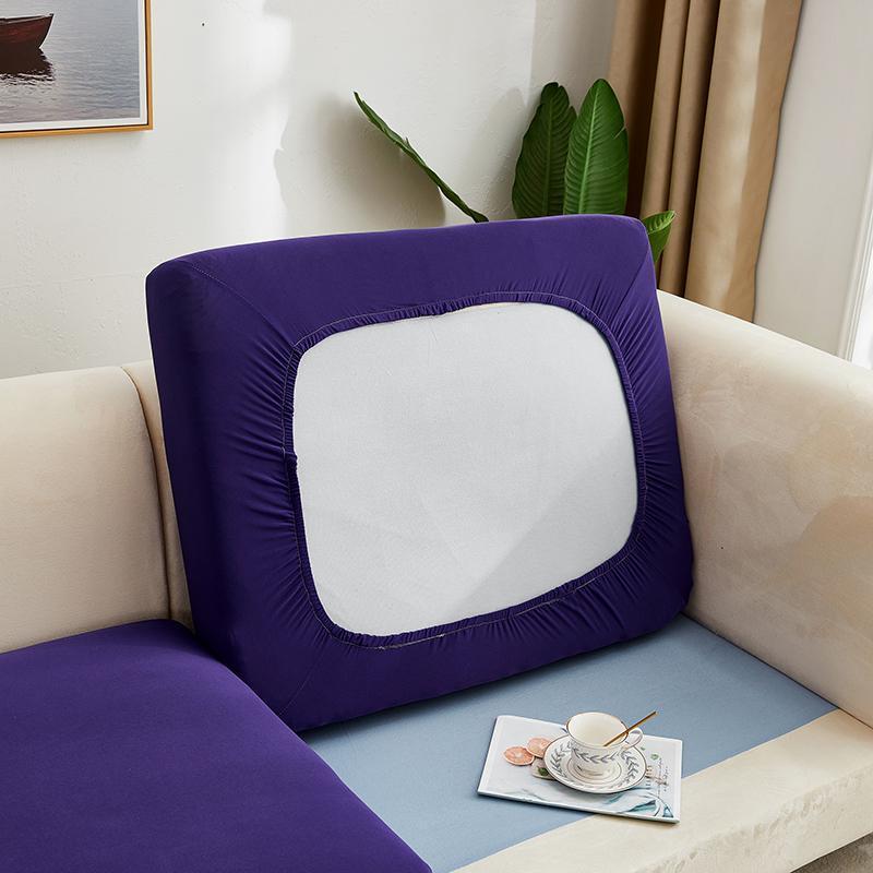 Stretch Sofa Pintatura Cuscino Seater Cover Solid Spandex Cuscino per cuscino per il divano a forma di divano a forma di divano sedile chaise longue