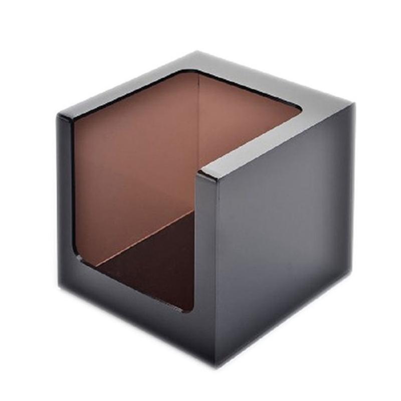 Car la place de stockage tissu de surface lisse Boîte Bureau Durable Home Décor Restaurants Cuisine Hôtel Bureaux Acrylique Distributeur