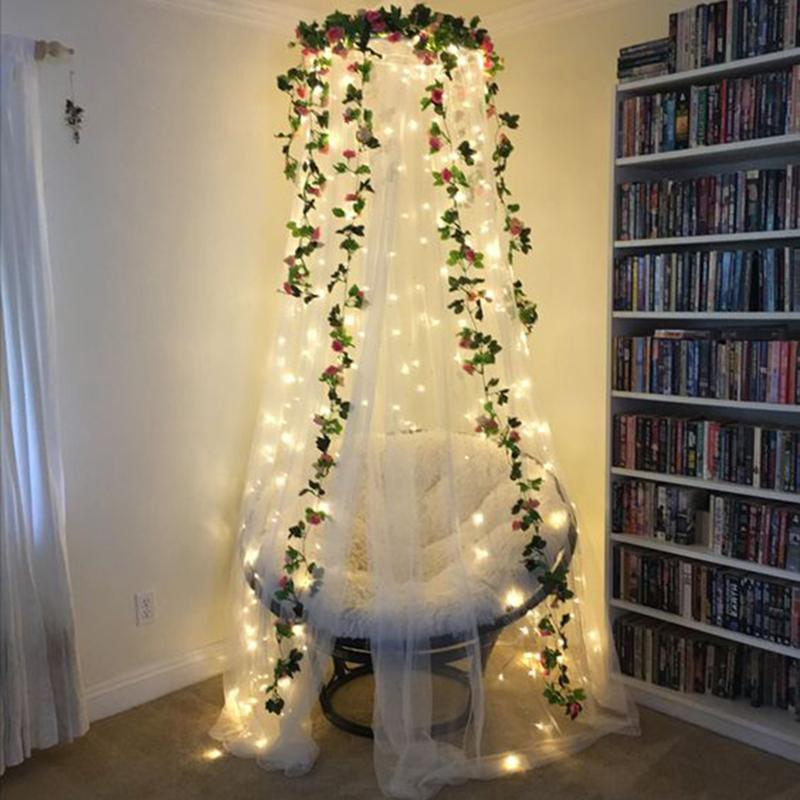 LED Icicle 2MX2M LED Cortina Fairy String Light Fairy Light 204 LED luz de Natal para casamento Casa Jardim Party Decoration