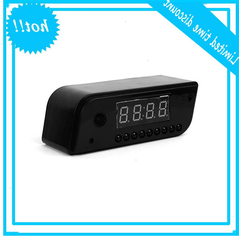 Smart Desk Clock Spy Camera 1080P HD Home Security Met Nathtzicht Mini Verborgen IP-камера