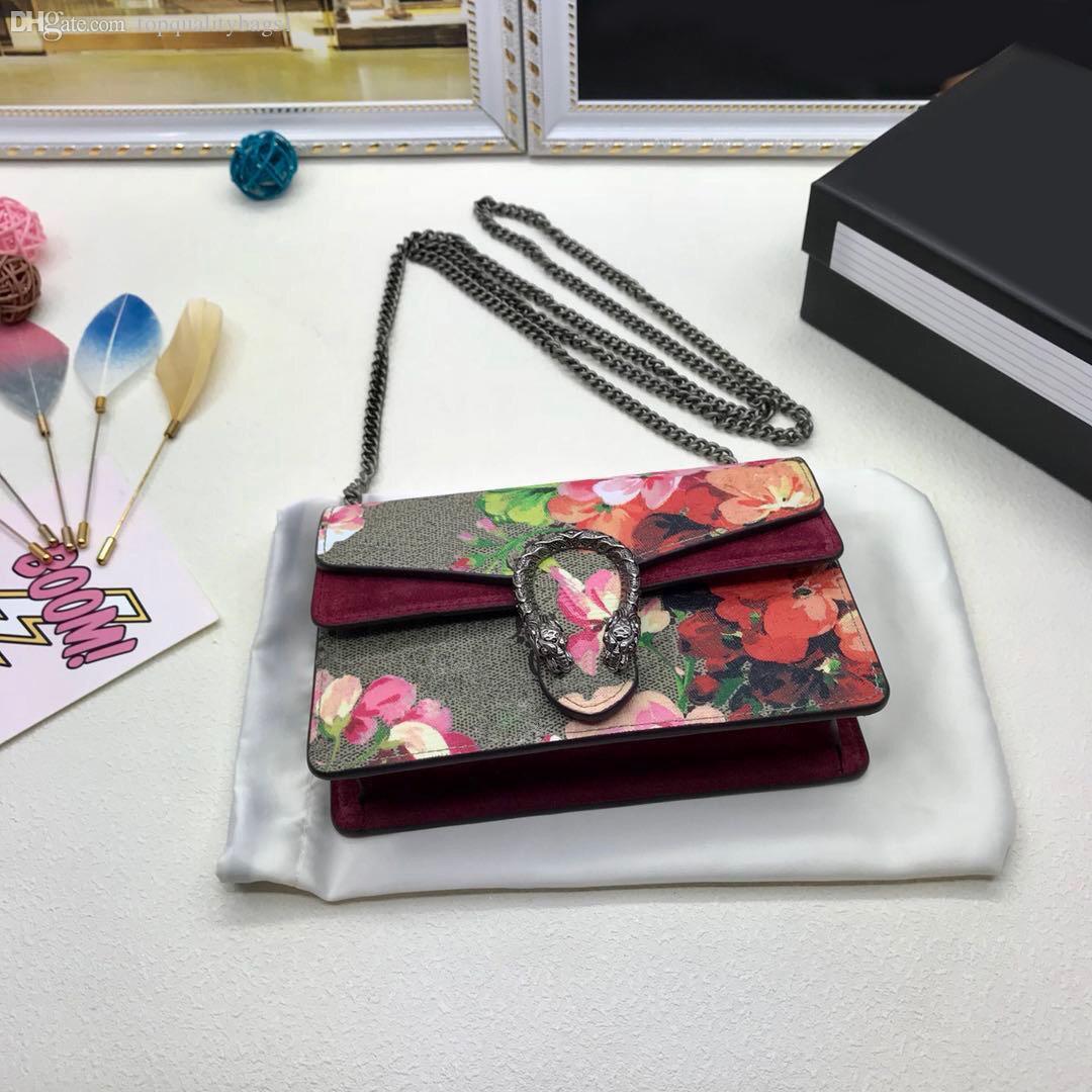 حار بيع الأزياء جلد طبيعي أعلى جودة المرأة حقيبة الكتف تغيير النساء المحفظة الكلاسيكية الحروف الكلاسيكية سلسلة حقيبة crossbody حقيبة مجانية