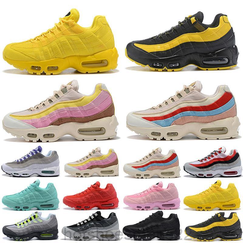 95s 95 2020 Novos Treinadores Childrens Kids Casual Sapatos Ao Ar Livre Preto Azul Vermelho Respirável Busca Meninas Meninos Moda Sports Sneakers ADG9