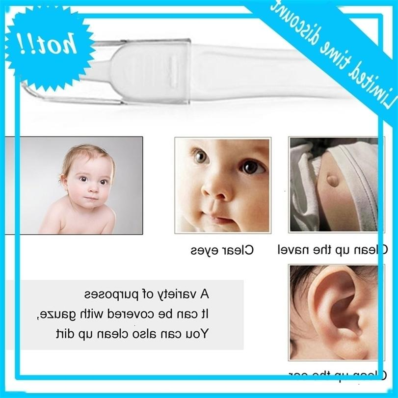 Newborn Baby Safe Cleaning Ear Effen Colour Digging Nose Clip Tang Schoon Pincet Kids Health care