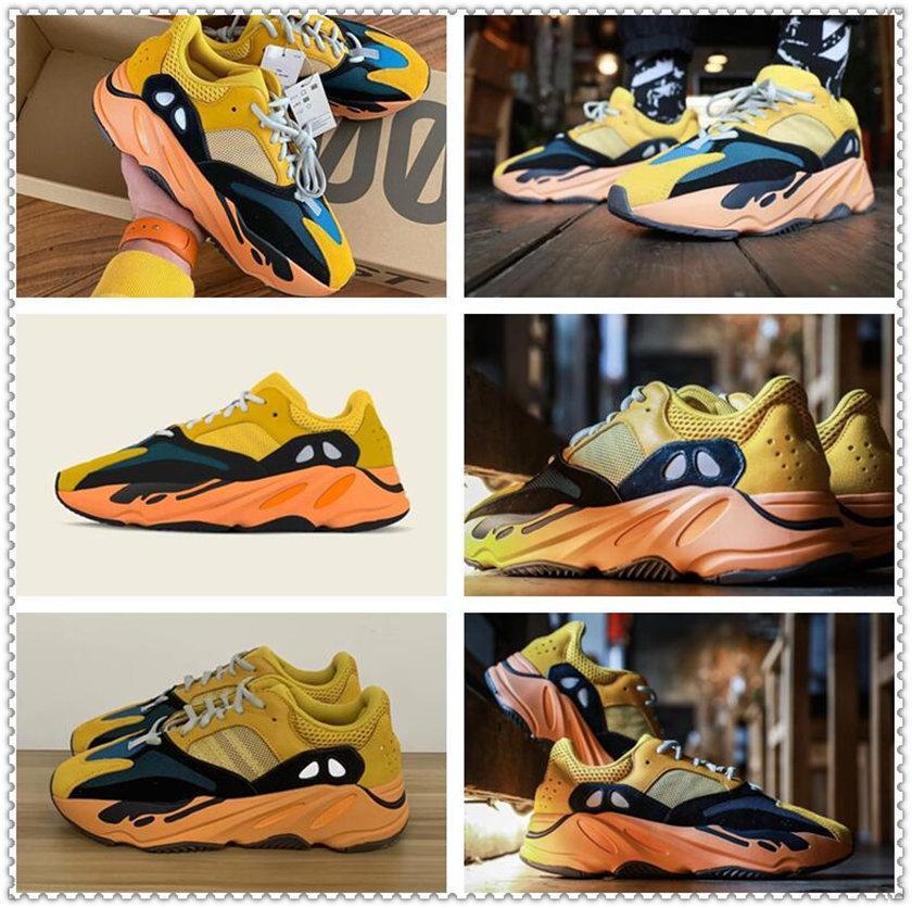 Мужская Женская спортивная обувь 2021 Kanye West Sun Yecoraite Eliada Ash-каменный свет Светоотражающий случайные дешевые кроссовки ролики кататься на коньках Обувь размер 36-48