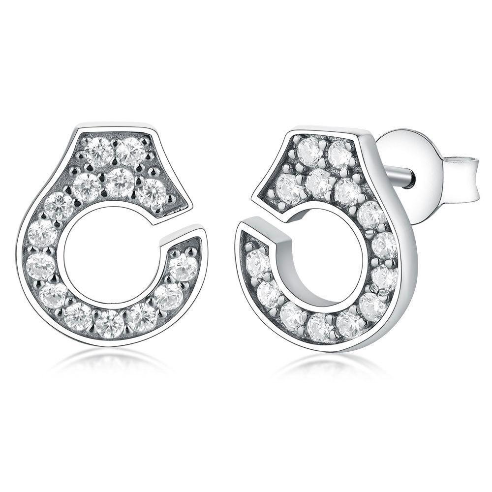 2019 Франция Знаменитые Серьги Степов Аутентичные Серьги наручников Стерлингового серебра 925 Для Женщин Булсицы D'Oreilles Menottes Argent Y1220