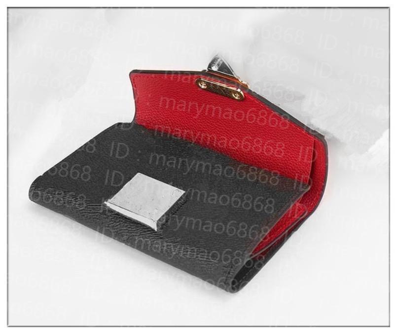 الكلاسيكية رقيقة المرأة قصيرة جلد محافظ المحمولة مصغرة محفظة الأزياء بطاقة حامل بطاقة البنك محفظة المال كليب كوين الحقيبة محفظة 5 ألوان