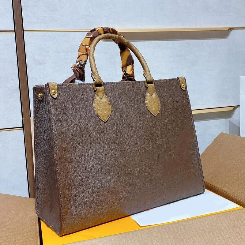 Grande capacité sac de sac à main sac sacs fourre-tout sacs mode hihg qualité patchwork authentique cuir véritable lettre hachage intérieure fermeture éclair