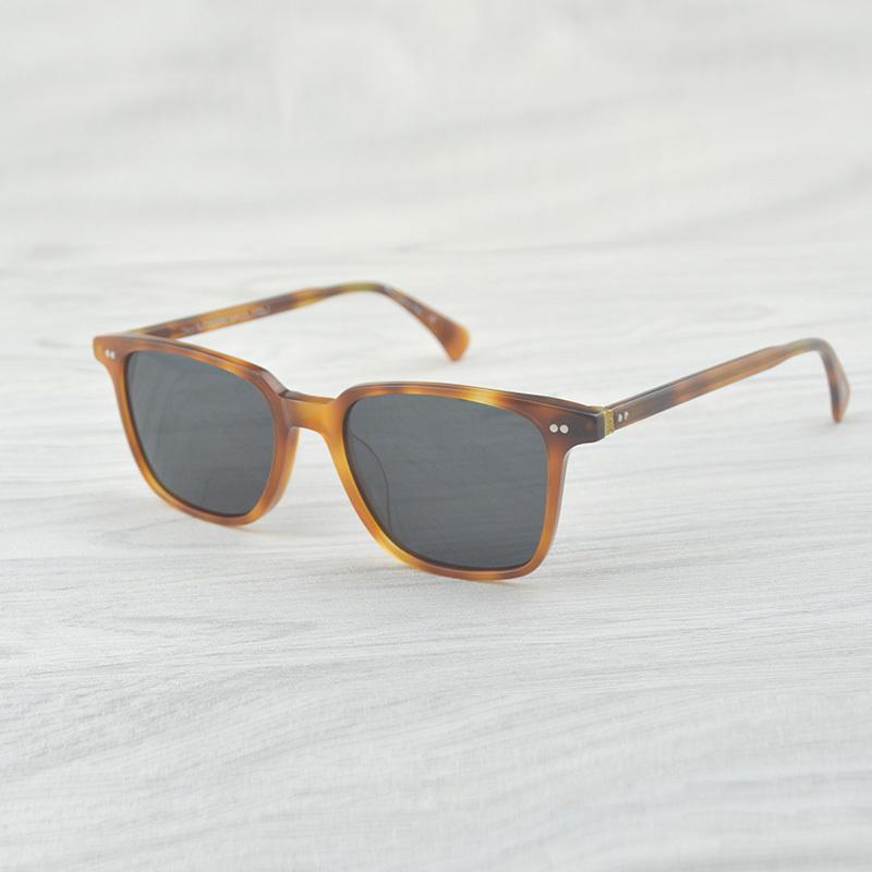 Square Square Vintage Classic Marca Designer Sunglasses Opll Retro Sun Óculos Mulheres Homens Eyewear Ov5316 Clear Oculos de Sol J1211