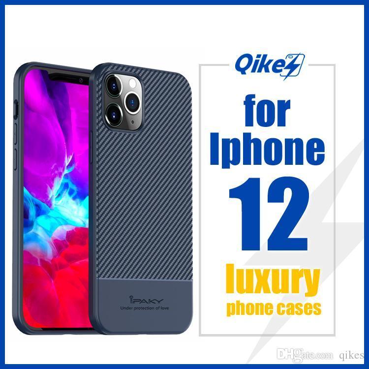 Funda telefónica de protección de la cámara para iPhone 12 12 Pro Max XR XS MAX X 7 8 6S PLUS 11PRO Diapositiva Silicona suave