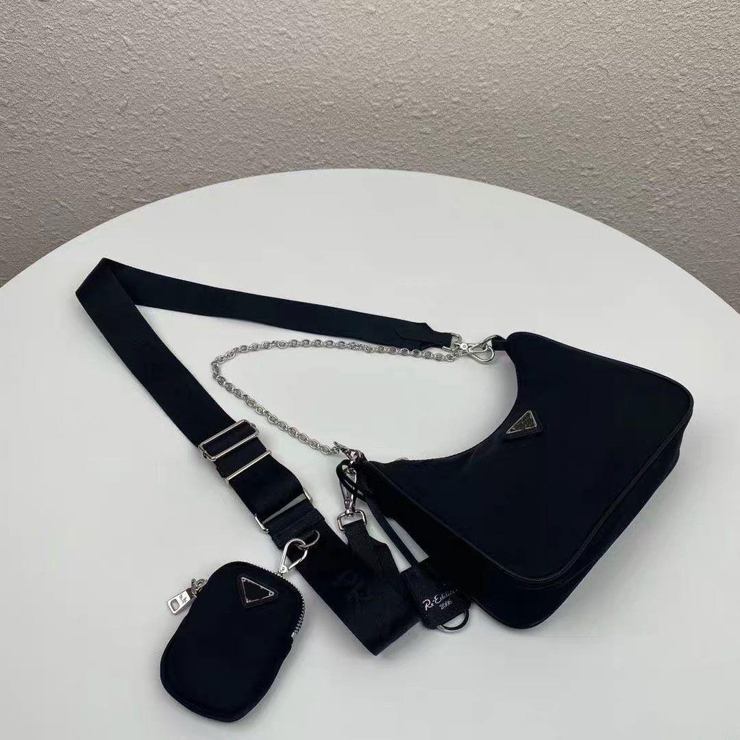 Nylon Canvas Wallet Messenger Bag Designer Designer Donne Crossbody Shoulder Catena Borse Borse per Borse Tote Bags Key Key RMXPO