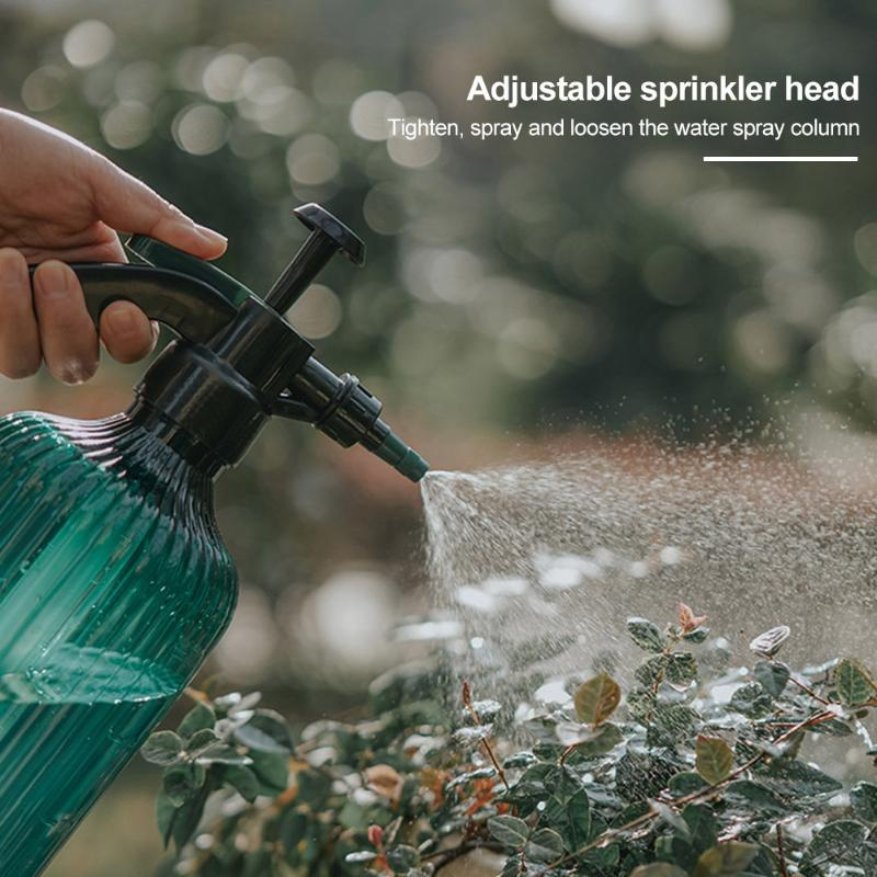 Plant Flower Adjustable Nozzle Pneumatic Typed Home Office Spray Bottle Sprinkling Watering Pot Large Capacity Hand Pressing