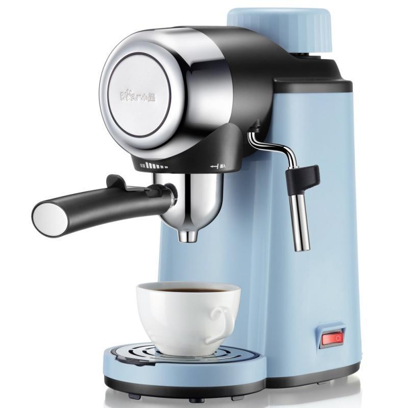 Coffee Roasters máquina de espresso semiautomatic espuma de espuma de espuma de alta pressão de alta pressão Tipo delicado sabor de um botão operação