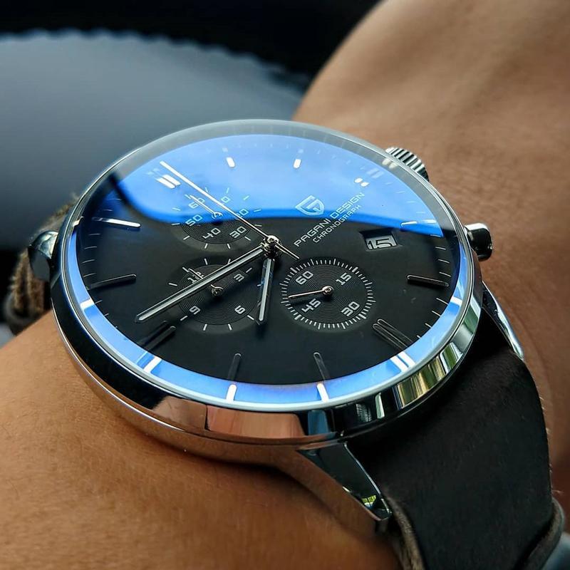 New Pagani Design Marca Relógios de Luxo para Homens Relógio Automático Data Impermeável Cronógrafo VK67 Movimento Relogio Masculino 201209