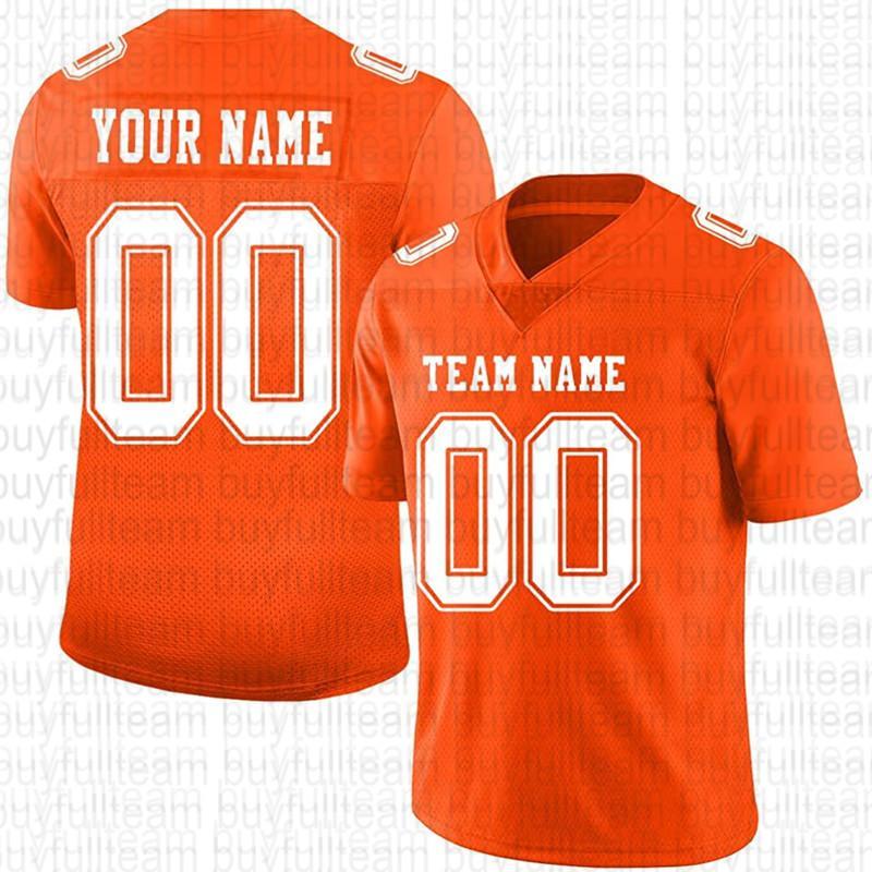 Diseñe personalizado su propio jersey de fútbol naranja 125