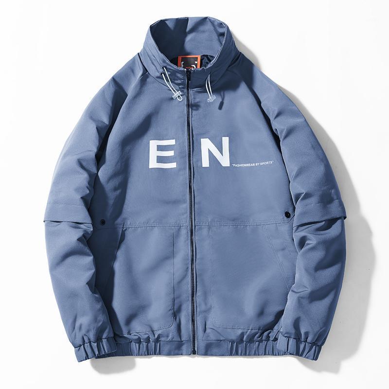 Sonbahar Erkek Bombacı Ceketler Streetwear Moda Rahat Erkek Sıcak Rüzgarlık Ceket Erkek Beyzbol Mont Giyim1