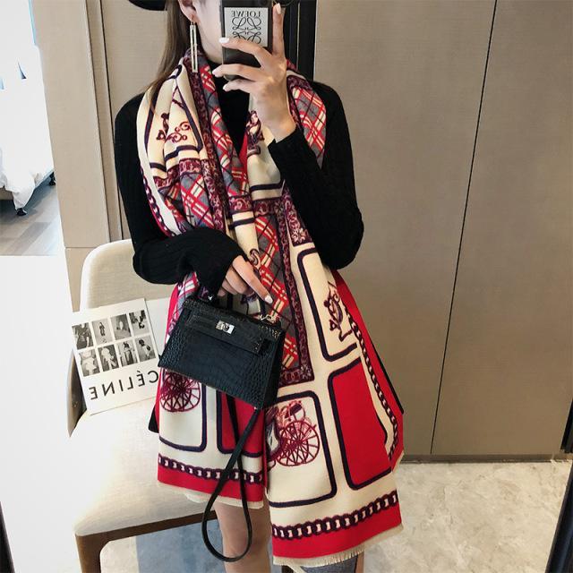 2021 Kadınlar Için Yeni Varış Bahar Şifon Eşarp Bayanlar Moda Elegance Lale Baskı Uzun Atkılar Yumuşak Ince Sarar Türban