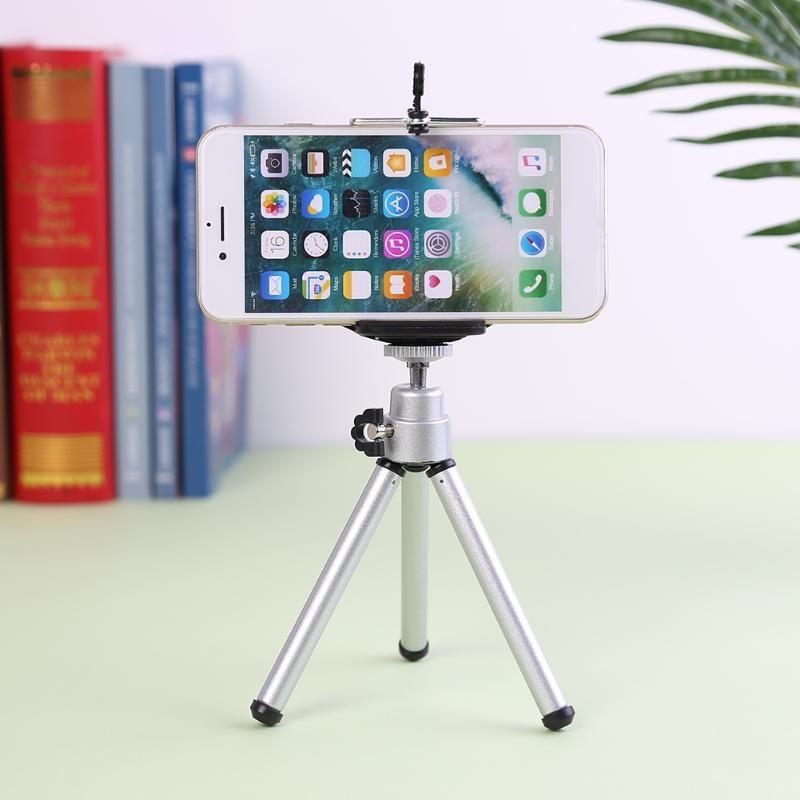 Treppiedi Sightseeing Camera Tripod Monopod Staffa con clip per telefono Outdoor 360 Accessori girevoli per il video in diretta PO
