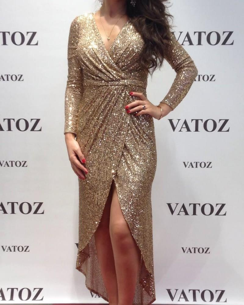 Prom Cocktail Homecoming Evening Dresses 2020 Woman's Party Night Celebrity Formal Dresses Plus Size Short Dubai Arabic Dress