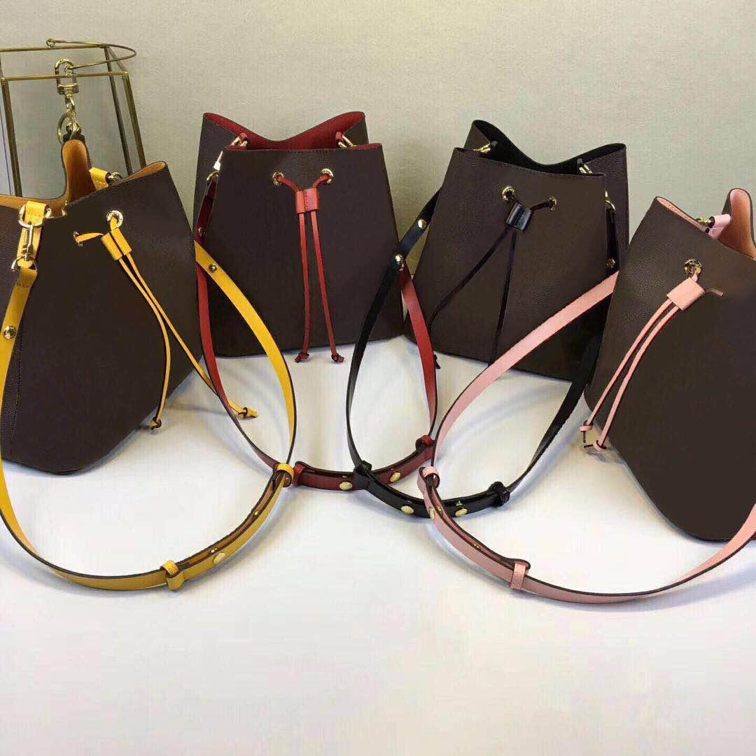 Excelente Qualidade Orignal Real Leather Ombro Mulheres Designer Bagbags Bolsa Bolsa Presbyópica Compras Messenger Messenger Saco de Luxo QCEW